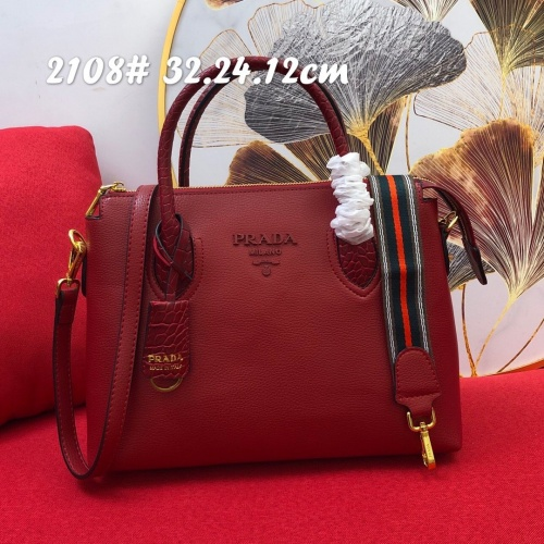 Prada AAA Quality Handbags For Women #852454