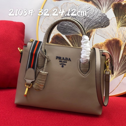 Prada AAA Quality Handbags For Women #852455