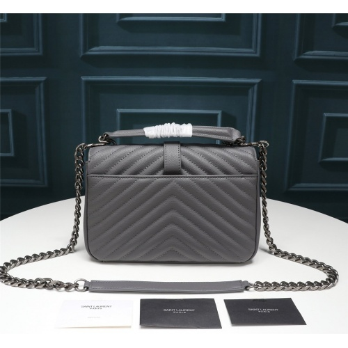 Replica Yves Saint Laurent YSL AAA Messenger Bags #852487 $100.00 USD for Wholesale