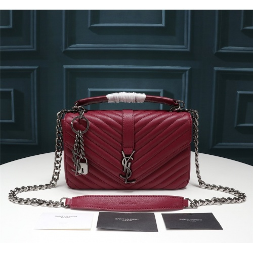 Yves Saint Laurent YSL AAA Messenger Bags #852489 $100.00 USD, Wholesale Replica Yves Saint Laurent YSL AAA Messenger Bags