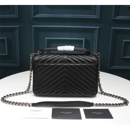 Replica Yves Saint Laurent YSL AAA Messenger Bags #852490 $100.00 USD for Wholesale
