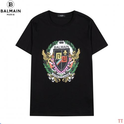 Balmain T-Shirts Short Sleeved For Men #852518