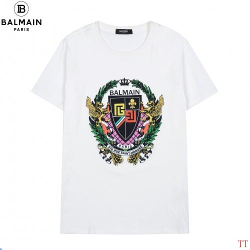 Balmain T-Shirts Short Sleeved For Men #852519