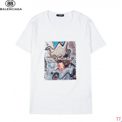 Balenciaga T-Shirts Short Sleeved For Men #852521