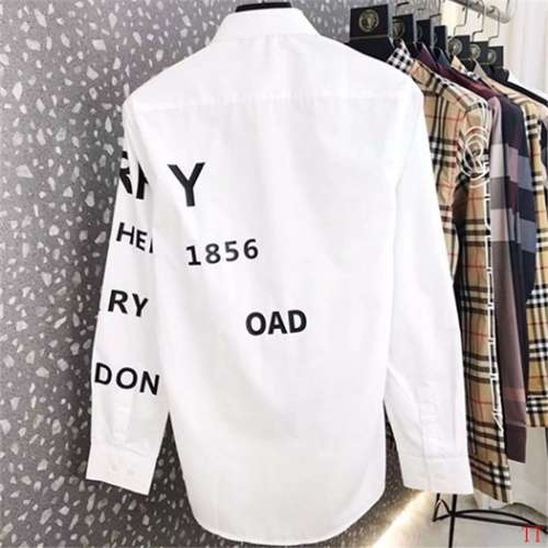 Replica Burberry Shirts Long Sleeved For Men #852530 $48.00 USD for Wholesale