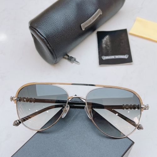 Chrome Hearts AAA Quality Sunglasses #852542