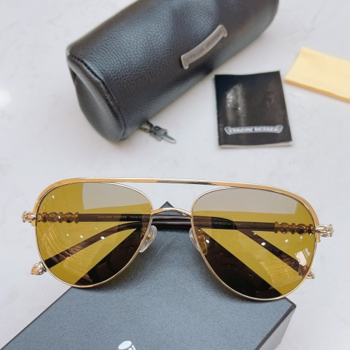 Chrome Hearts AAA Quality Sunglasses #852545
