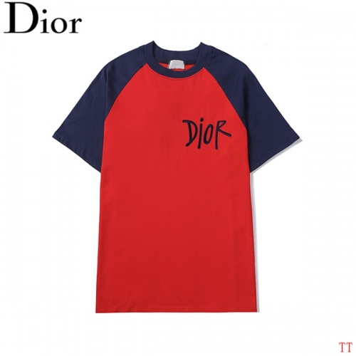 Christian Dior T-Shirts Short Sleeved For Men #852548
