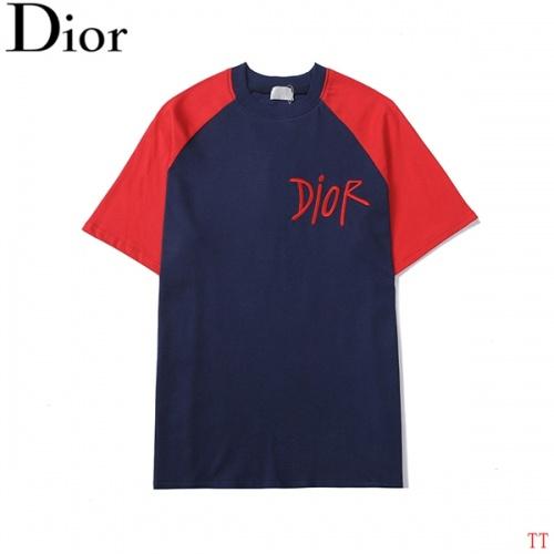 Christian Dior T-Shirts Short Sleeved For Men #852549
