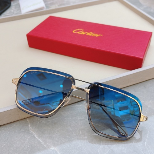 Cartier AAA Quality Sunglasses #852552
