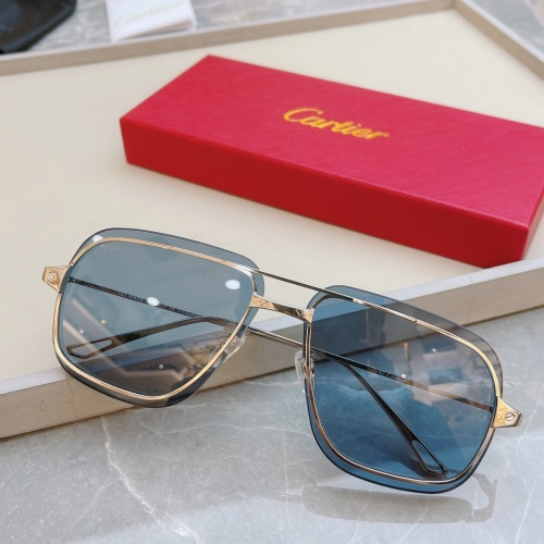 Cartier AAA Quality Sunglasses #852553