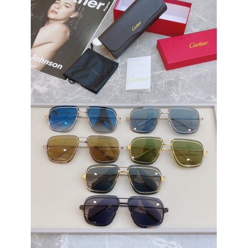 Replica Cartier AAA Quality Sunglasses #852554 $58.00 USD for Wholesale