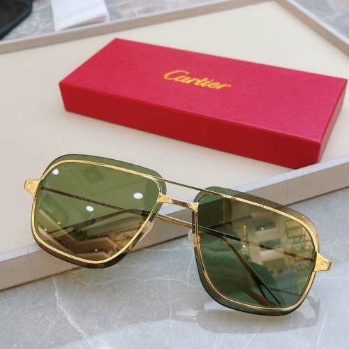 Cartier AAA Quality Sunglasses #852555