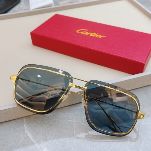 Cartier AAA Quality Sunglasses #852556