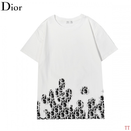 Christian Dior T-Shirts Short Sleeved For Men #852559