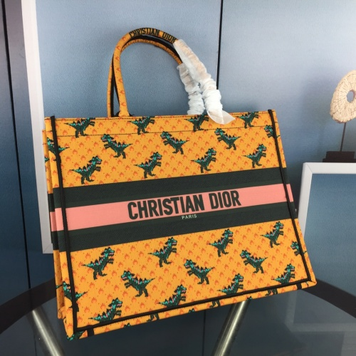 Replica Christian Dior AAA Quality Tote-Handbags For Women #852592 $64.00 USD for Wholesale