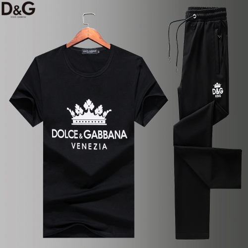 Dolce & Gabbana D&G Tracksuits Short Sleeved For Men #852734