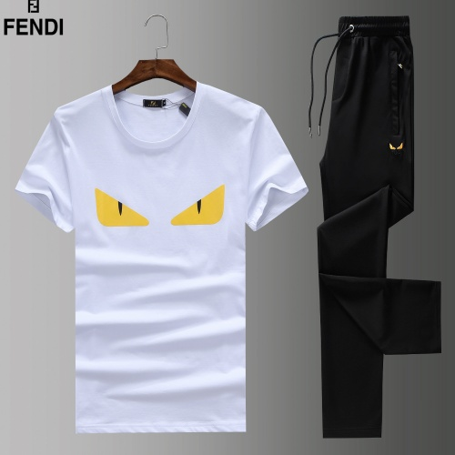 Fendi Tracksuits Short Sleeved For Men #852738