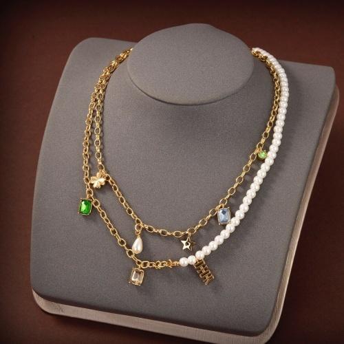 Christian Dior Necklace #852750 $38.00 USD, Wholesale Replica Christian Dior Necklace
