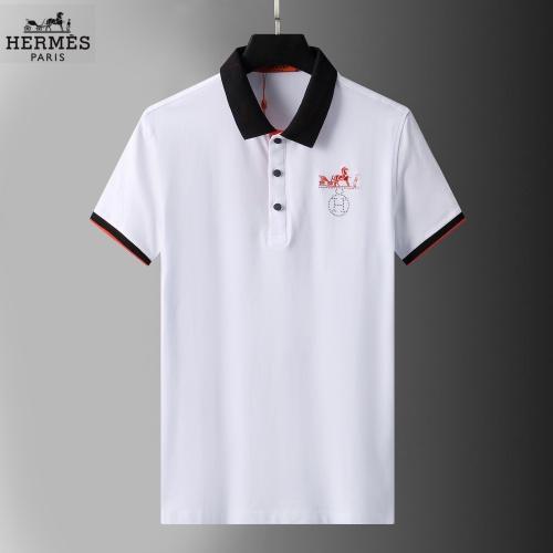 Hermes T-Shirts Short Sleeved For Men #852770