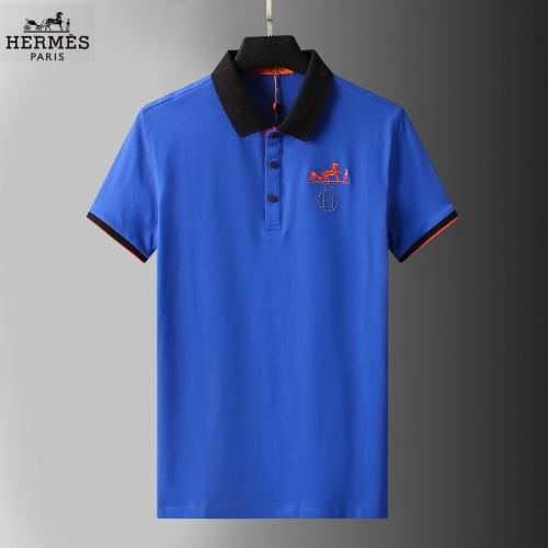 Hermes T-Shirts Short Sleeved For Men #852772