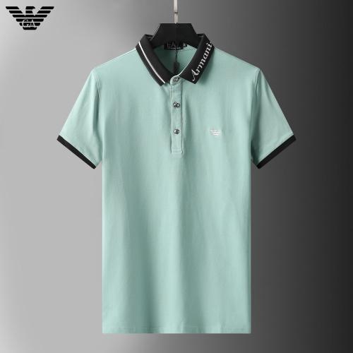 Armani T-Shirts Short Sleeved For Men #852773