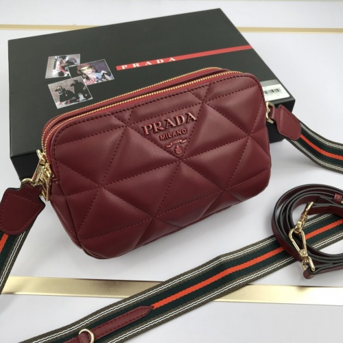 Prada AAA Quality Messeger Bags For Women #852828