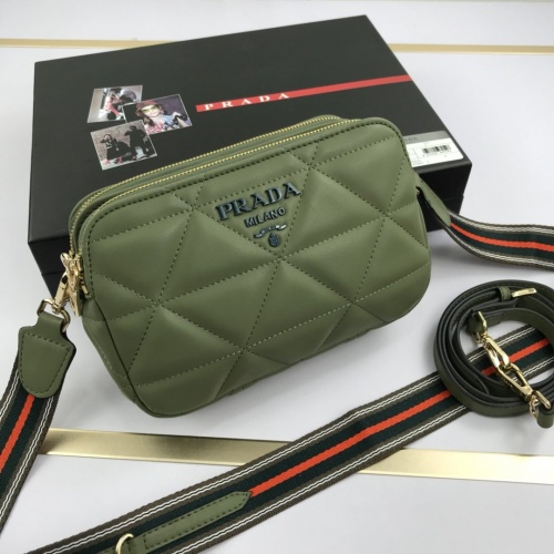 Prada AAA Quality Messeger Bags For Women #852829