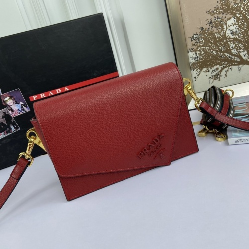 Prada AAA Quality Messeger Bags For Women #852834 $100.00 USD, Wholesale Replica Prada AAA Quality Messeger Bags