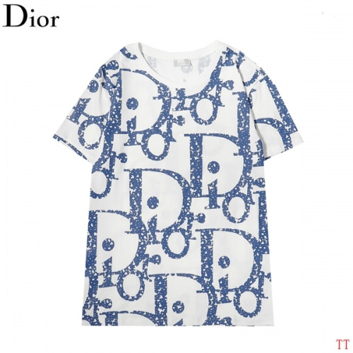 Christian Dior T-Shirts Short Sleeved For Men #852835