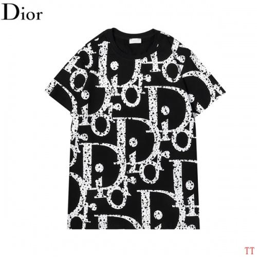 Christian Dior T-Shirts Short Sleeved For Men #852836