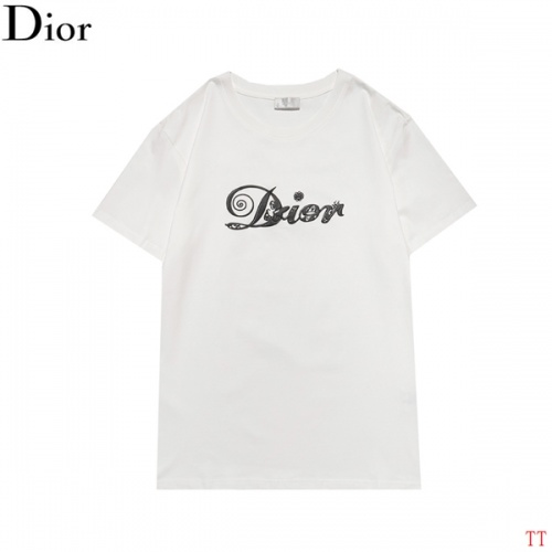 Christian Dior T-Shirts Short Sleeved For Men #852837