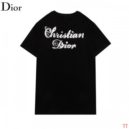Christian Dior T-Shirts Short Sleeved For Men #852838 $27.00 USD, Wholesale Replica Christian Dior T-Shirts