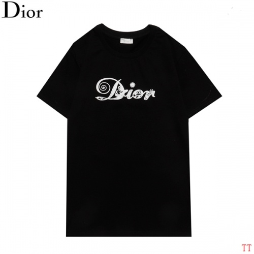 Replica Christian Dior T-Shirts Short Sleeved For Men #852838 $27.00 USD for Wholesale