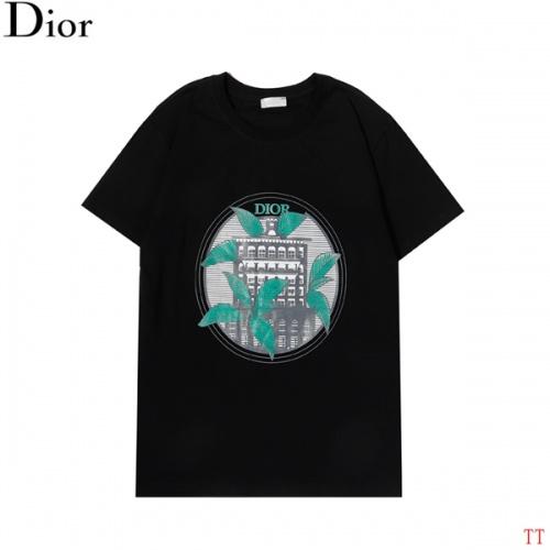 Christian Dior T-Shirts Short Sleeved For Men #852839