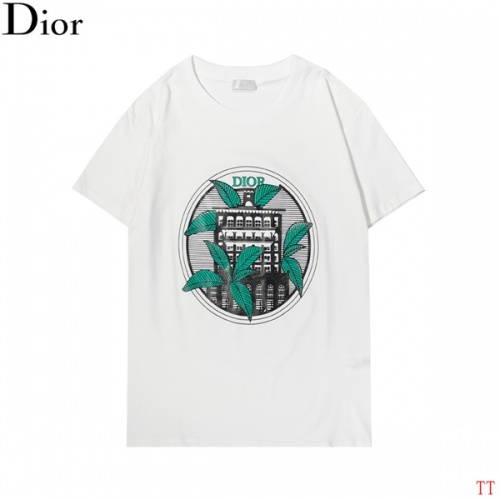 Christian Dior T-Shirts Short Sleeved For Men #852840