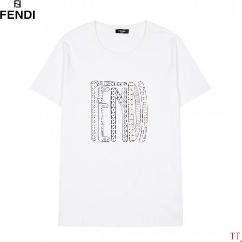 Fendi T-Shirts Short Sleeved For Men #852852