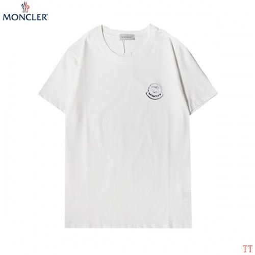 Moncler T-Shirts Short Sleeved For Men #852929