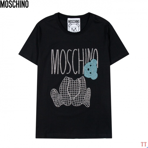 Moschino T-Shirts Short Sleeved For Men #852930
