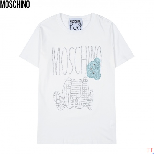 Moschino T-Shirts Short Sleeved For Men #852931