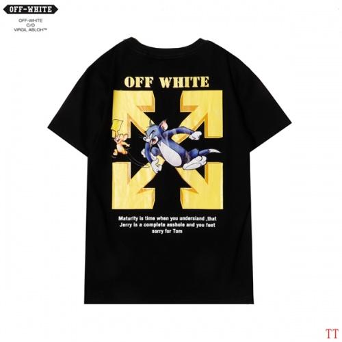 Off-White T-Shirts Short Sleeved For Men #852952