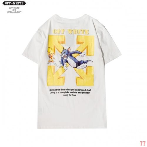 Off-White T-Shirts Short Sleeved For Men #852953