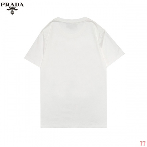 Replica Prada T-Shirts Short Sleeved For Men #852972 $29.00 USD for Wholesale