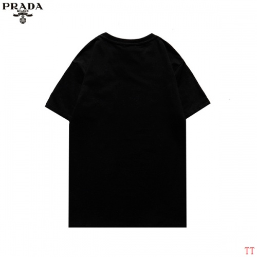 Replica Prada T-Shirts Short Sleeved For Men #852973 $29.00 USD for Wholesale