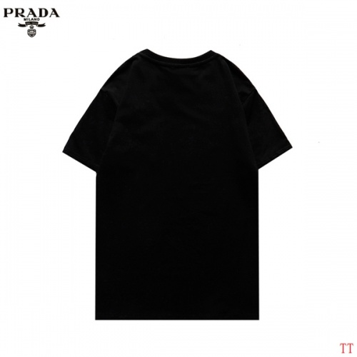 Replica Prada T-Shirts Short Sleeved For Men #852974 $27.00 USD for Wholesale