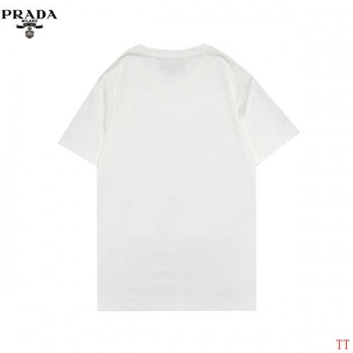 Replica Prada T-Shirts Short Sleeved For Men #852975 $27.00 USD for Wholesale