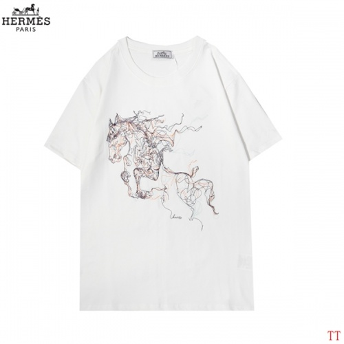 Hermes T-Shirts Short Sleeved For Men #852976
