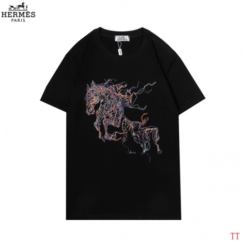 Hermes T-Shirts Short Sleeved For Men #852977