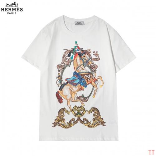 Hermes T-Shirts Short Sleeved For Men #852979