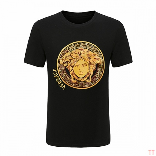 Versace T-Shirts Short Sleeved For Men #852980 $29.00 USD, Wholesale Replica Versace T-Shirts